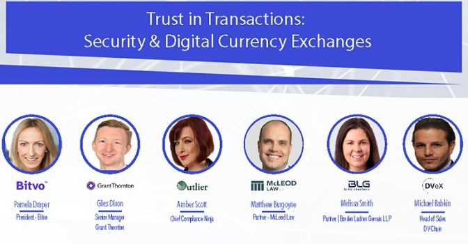 Trust in Transactions: Security & Digital Currency Exchanges – Live Discussion on Thursday April 30th, 2020