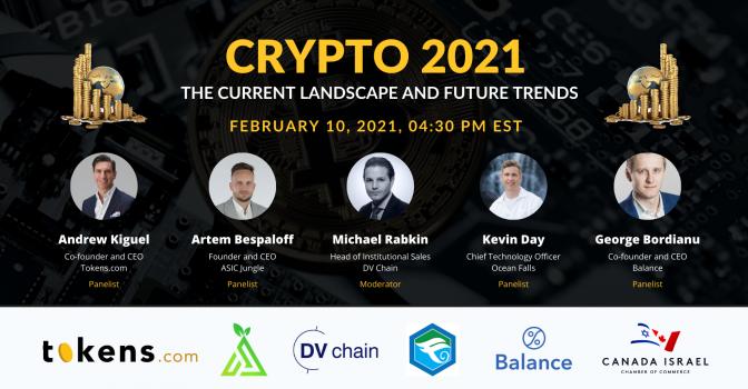Crypto 2021: The Current Landscape and Future Trends (Webinar)
