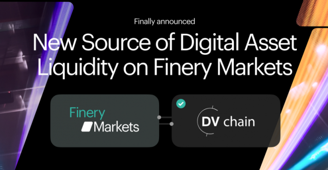 DV Chain Joins Finery Markets Liquidity Network