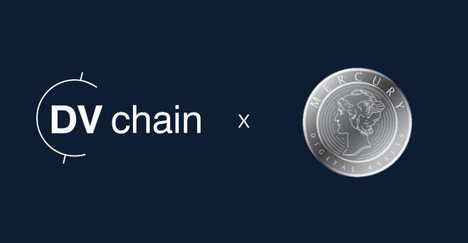 DV Chain to Begin Providing Liquidity to Mercury Digital Assets