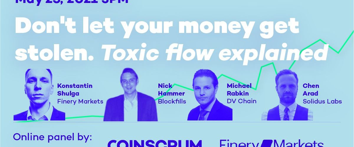 Webinar: On May 25th Join our Head of Institutional Sales, Michael Rabkin, as he Discusses Several Hot Topics from the Cryptocurrency Sector